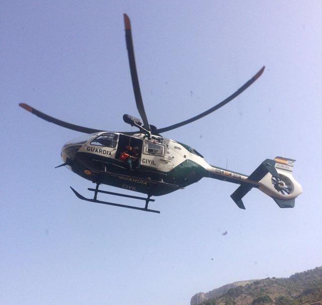 Guardia Civil rescata cadáver de anciano en Canillas de Aceituno