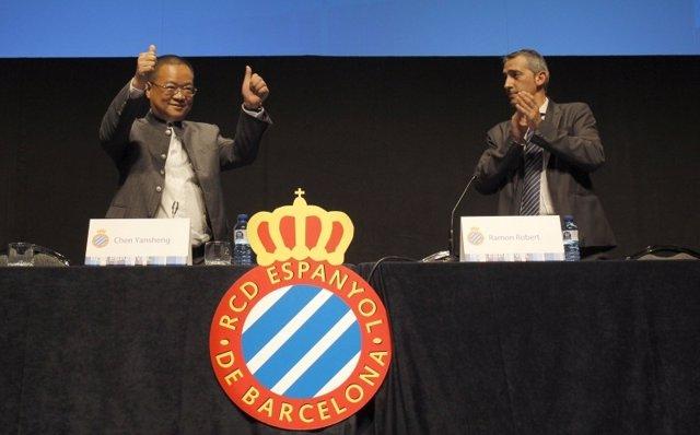 El Empresario Chino Chen Yansheng, Nuevo Presidente Del Espanyol