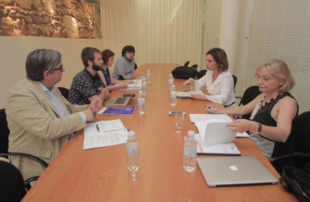 Reunión de la mesa presidencial de la Red de Juderías en Córdoba