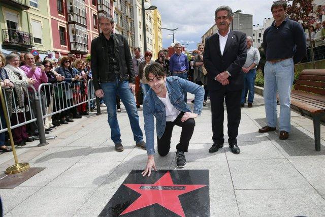 Eduardo Noriega estrena 'estrella de la fama' en Tetuán