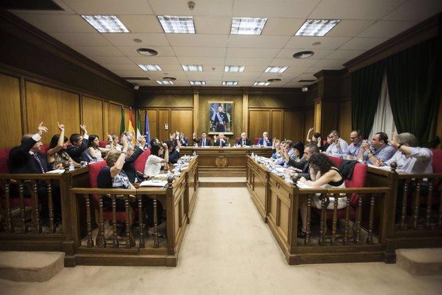El Pleno de Diputación ha dado luz verde a una ayuda para salida de la A7.