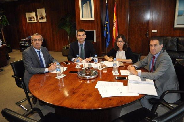 Reunión para abordar el proyecto Puerto-Ciudad