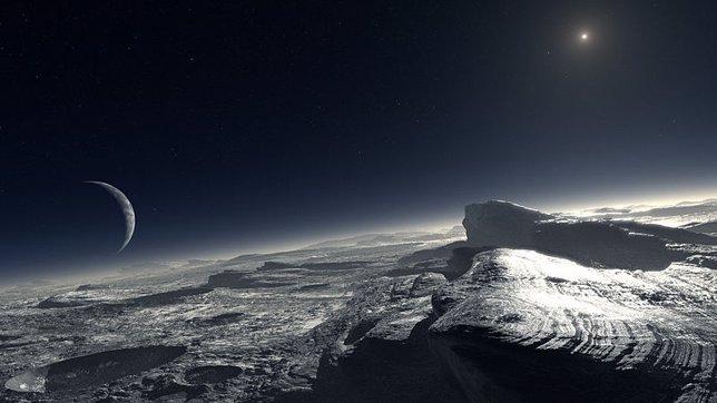 Plutón, exoplaneta