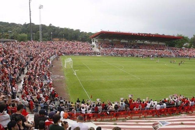El estadio del Girona FC, Montilivi