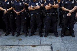 Nueva York despliega a su nuevo equipo de perros detectores de explosivos para el 4 Julio