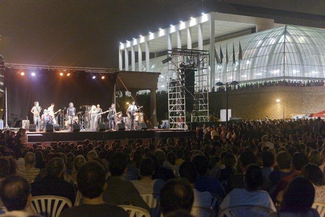 Imagen de archivo de uno de los conciertos en el Palau