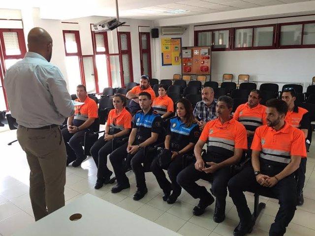 Formación de Protección Civil en Melilla