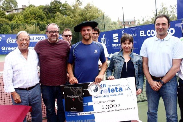 Ricardo Ojeda se hace con la victoria en el Open Kiroleta
