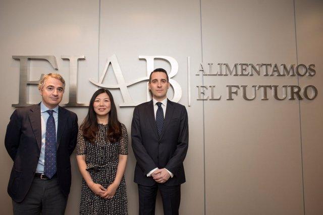 Reunión FIAB y Alibaba