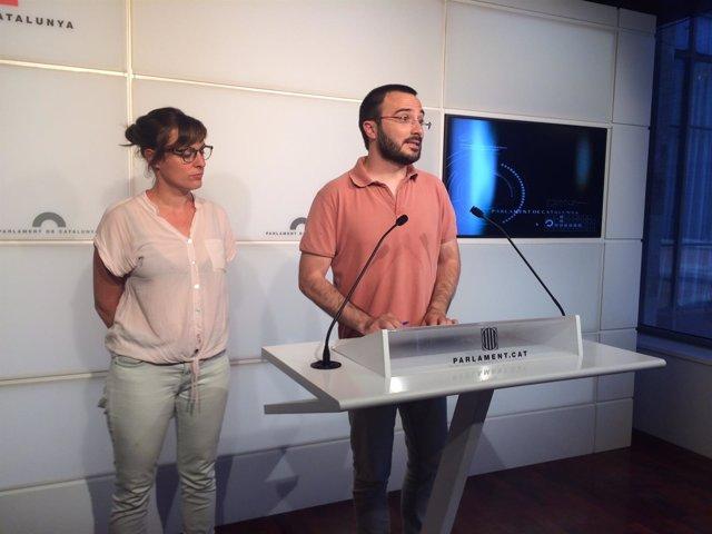Mireia Vehí Y Albert Botran (CUP)