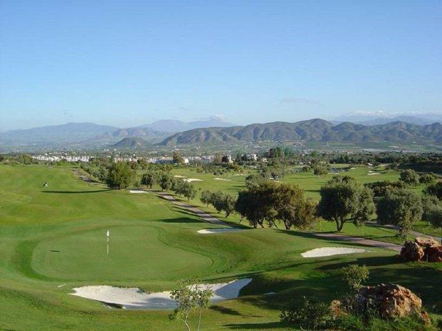 Un campo de golf en Alhaurín de la Torre