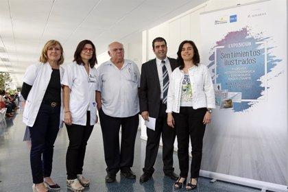 Llega a Barcelona una exposición de 'sentimientos ilustados' sobre la psoriasis, artritis psoriásica y espondilitis