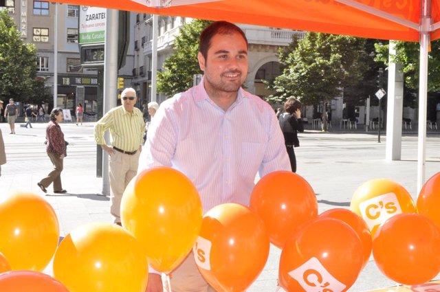 El diputado de C's al Congreso, Rodrigo Gómez.