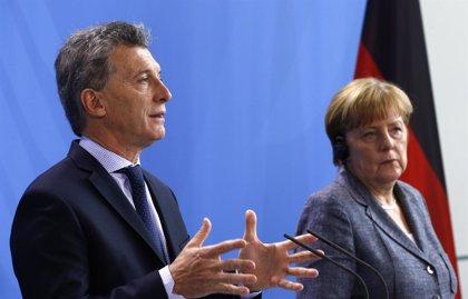 Macri pide a Merkel una aproximación entre la Unión Europea y Mercosur