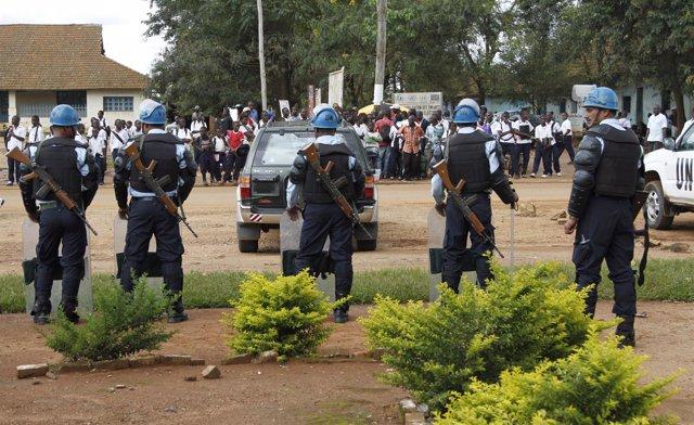 Cascos azules de la ONU en República Democrática de Congo (RDC)