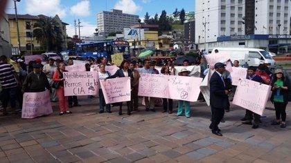 Ciudadanos ecuatorianos piden explicaciones ante las supuestas relaciones con la CIA
