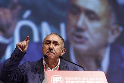 """Álvarez (UGT) critica el """"postureo"""" y pide un programa de Gobierno que considere a la mayoría de listas"""