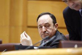 61 senadores se han acreditado ya ante la Cámara Alta, entre ellos Pedro Sanz