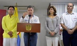 """Santos quiere hablar con Venezuela para una reapertura """"responsable"""" de la frontera"""