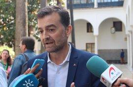 """Maíllo (IU) ve 178 escaños para investir a Sánchez pero cree que hay que """"forzar"""" al PSOE"""