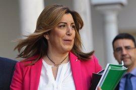 """Susana Díaz respeta la opinión de González pero mantiene su """"posición"""" ante la investidura"""