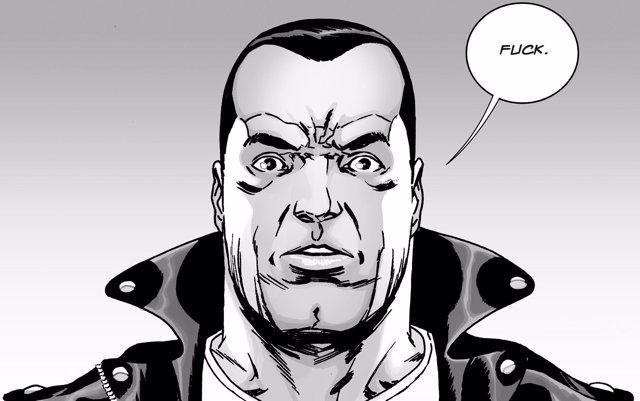 Negan The Walking Dead Comic
