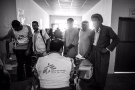 MSF denuncia la situación de 3,3 millones de iraquíes desplazados por la violencia