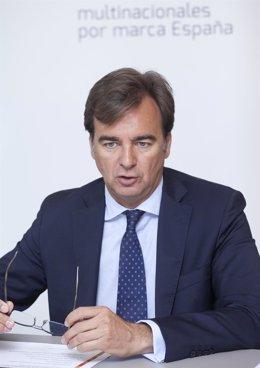 Adolfo Aguilar, presidente de Multinacionales por marca España