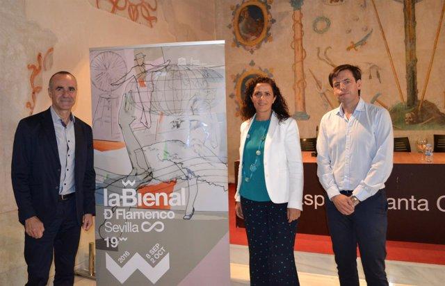 La Bienal y la Diputación de Sevilla unen fuerzas para llevar la XIX edición