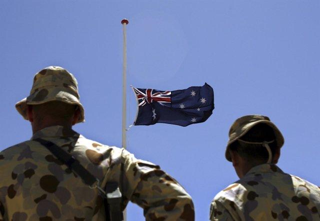 Soldados australianos en Afganistán