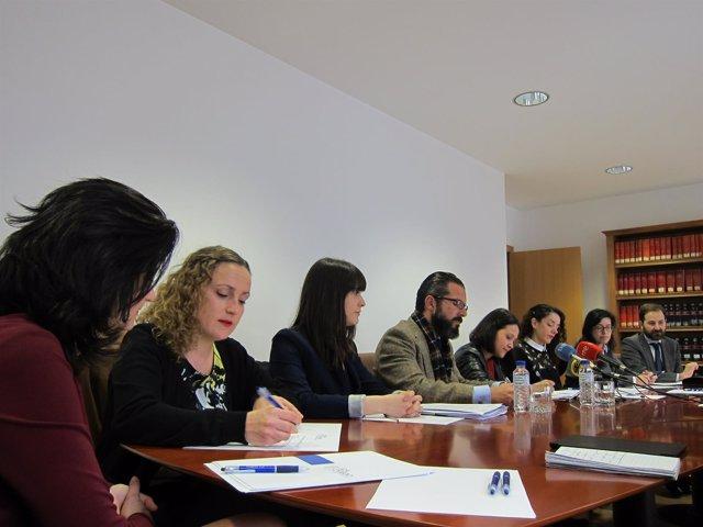 Integrantes de la Comisión de Igualdad del Ilustre Colegio de Abogados de Oviedo