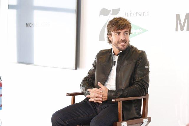Fernando Alonso en una entevista con GQ