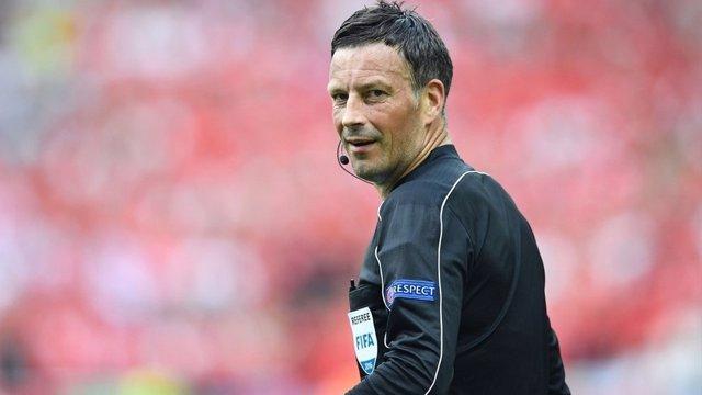 Mark Clattenburg arbitrará la final de la Eurocopa