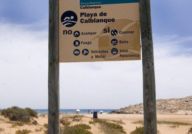 Playa de Calblanque (Cartagena)