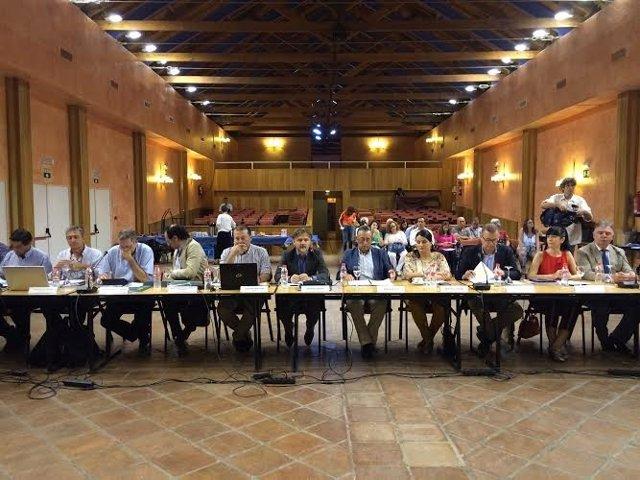 Consejo de Participación de Doñana en junio de 2015.