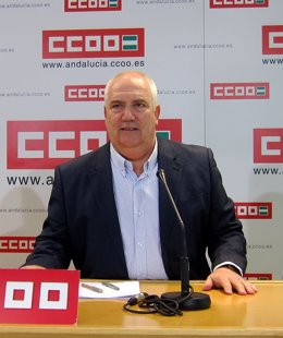 Francisco Carbonero, secretario general de CCOO-A.