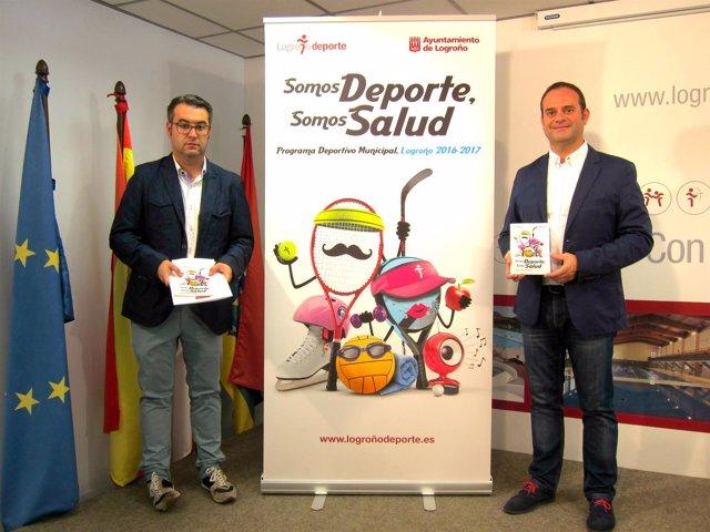 Presentación Programa Deportivo de Logroño Deporte 2016-2017