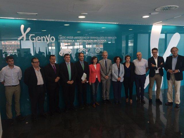Nota/ Cultura, Salud Y La Universidad De Granada Crearán Un Banco De ADN Para La