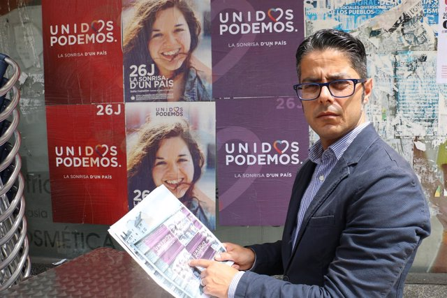El portavoz adjunto del PP de Oviedo, Gerardo Antuña
