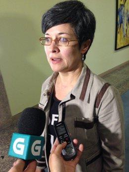 Patricia Vilán, portavoz del Grupo Parlamentario del PSdeG