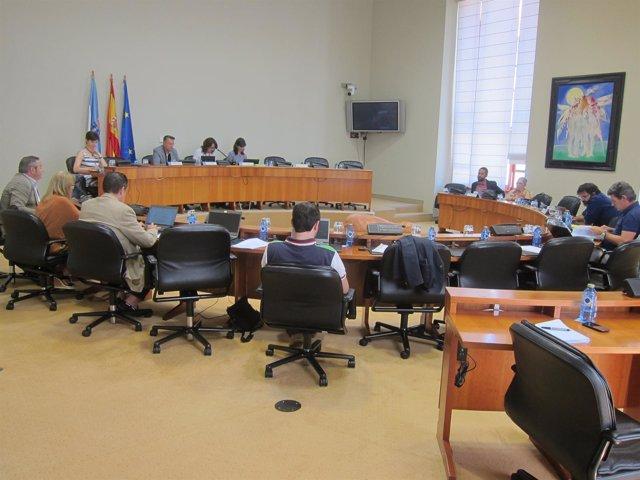 Comisión 8ª de Pesca y Marisqueo en el Parlamento de Galicia
