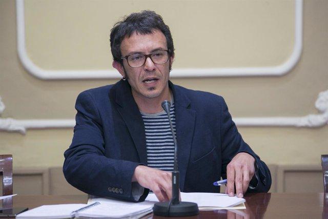 José María González, alcalde de Cádiz