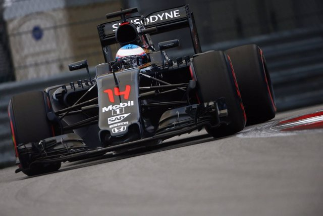 Fernando Alonso, GP de Rusia 2016