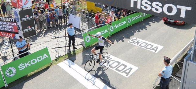 Sven Cummings gana la séptima etapa del Tour
