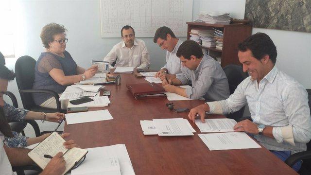 Reunión de la comisión extraordinaria de Hacienda