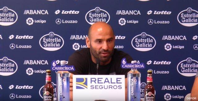 Manuel Pablo, exjugador del Deportivo de la Coruña
