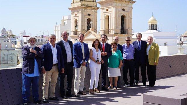 El patronato de la Fundación Cajasol se reúne en Cádiz