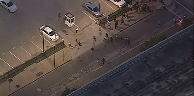 Caos en Dallas tras el tiroteo