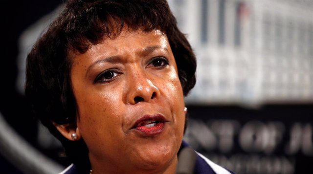 La fiscal general de EEUU, Loretta Lynch