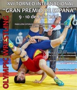 Cartel del XVI Torneo Internacional  'Gran Premio de España'